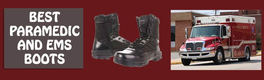 paramedic work boots