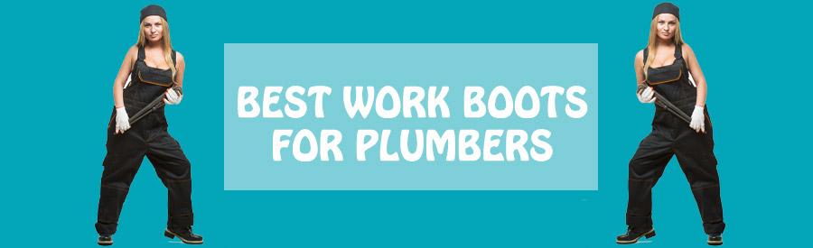 plumbers work boots