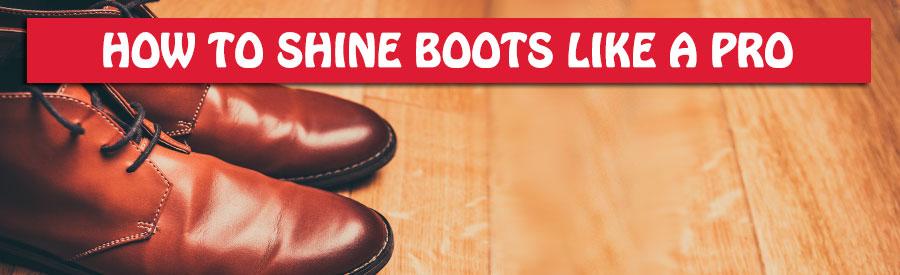 polish work boots like a pro