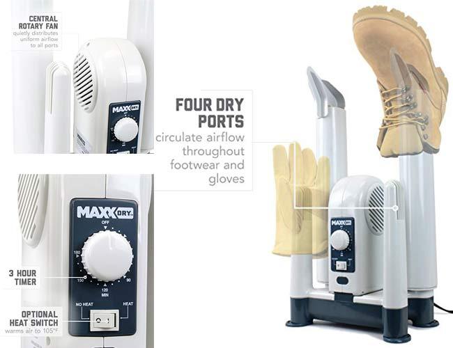 Maxxdry Heavy Duty Boot Dryer, Shoe Dryer, And Glove Dryer
